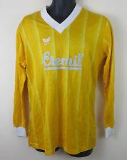 Vtg Erima 80s Football Shirt Trikot Retro Yellow Jersey Camiseta Vintage L Large