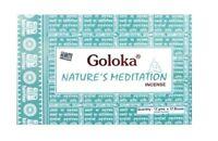 3 boîtes d'encens Goloka Nature's Meditation 15g