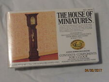 Doll House Of Miniatures William & Mary Tall Case Clock KIT Antique Replica 1/12
