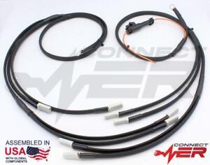 CHEVROLET GMC 6.5L Turbo Diesel PREMIUM Glow Plug Harness - Best (Black)