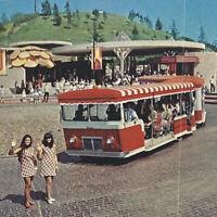 Vintage 1970 Universal Studios Movie City GlamorTram Frankenstein Hollywood CA