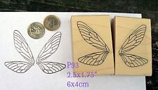 P93 Butterfly wings, fairy wings rubber stamps wm