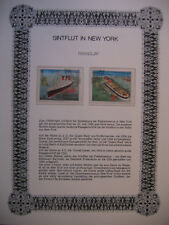 Irrt��mer auf Briefmarken / Paraguay Mi 4006 + 4008 : Queen Mary + United States