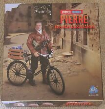 """DID Figurine Pierre français resiistance 1/6 12"""" Boxed Hot Toy ww11 Dragon"""