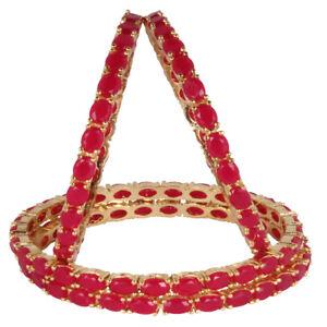 Ethnic Fashion Indian Bangle Bracelet set Traditional Women's Bollywood Jewelry