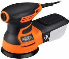 TACKLIFE 5-Inch Random Orbit Sander 3.0A with 12Pcs Sandpapers, 6 Variable Speed