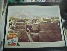 BAD BASCOMB, orig 1946 LC #8 [Marjorie Main defends wagon train from indians]