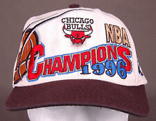 Chigago Bulls Hat-1996 NBA Champions-Snapback-Logo Athletic-Basketball-Jordan...