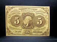5C Fractional Currency ✪ Choice Uncirculated ✪ 1St Issue L@K Now Unc ◢Trusted◣
