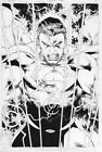 Ed Benes SUPERMAN 15 page 20 Drawing Published Original Art