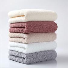 Pure Color Luxury 100% Egyptian Cotton Towel Bale Set Hand Face Bath Absorbent