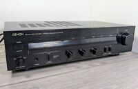 Denon PMA-320 integrated amplifier - CD MOVING MAGNET / COIL Mm MC phono