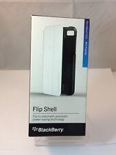 Genuina Original Batería De Blackberry Z10-Blanco Cubierta Trasera-Flip Shell