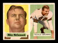 1957 Topps #3 Mike McCormack  EX+ X1576814