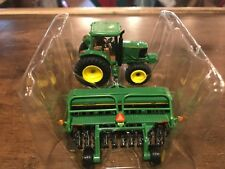 John Deere 6220 Tractor w/ 1590 Grain Drill 1/64 Scale Diecast Model