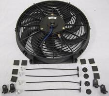 "14"" Universal Curved S-Blade Heavy Duty Electric Radiator Cooling Fan Mount Kit"