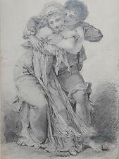 CURIOSA Auguste Martinet DESSIN ORIGINAL Erotica EROTIQUE 1847
