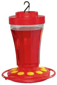 First Nature 3090 Hummingbird Nectar Flower Feeder - Made in the USA 32 oz.