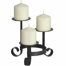 Traditional Pillar Candle Candelabras Light Holders