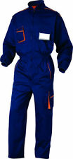 Ropa de hombre azul color principal naranja