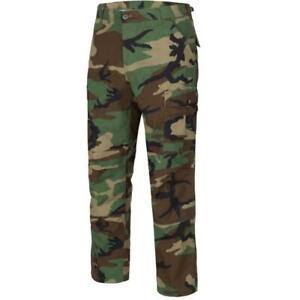Men's Tactical BDU Pants, Cargo Style Trousers, 100% Cotton Ripstop, Made in USA