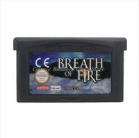 Nintendo GBA Video Game Console Card Cartridge Breath Of Fire