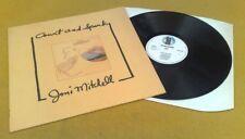 "JONI MITCHELL "" COURT & SPARK  ""SUPERB UK VRARE ORIG A1B1 WHITE ASYLUM EMI PRESS"