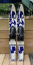 Cut N' Jump Kid's Trainer Water Skis Junior Pro 45'' Blue White & Yellow CT 454