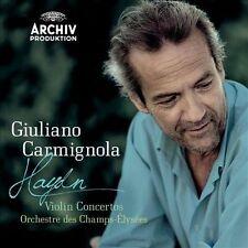 Haydn: Violin Concertos by Giuliano Carmignola