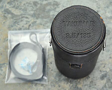 Genuine Asahi Pentax Takumar 3.5/135 135mm f3.5 Leather Lens Case Strap (#921)