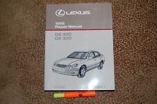 1998 Lexus GS400 GS300 Repair Manual 1 of 2 Service LIKE NEW Free shipping