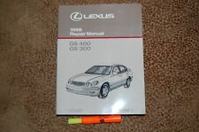 1998 Lexus GS400 GS300 Repair Manual Book 1 Service LIKE NEW Free shipping