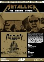 METALLICA The Sandman Cometh TEXAS BROADCAST Ltd gold vinyl lp rare live show