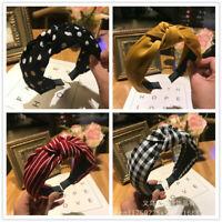 Women's Girl Hairband Twisted Knot Headband Headwear Hair Band Hoop Fashion 1X