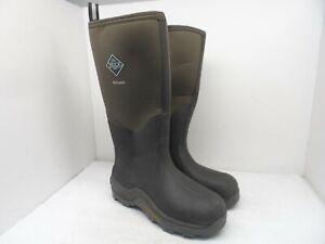 Muck Boot Men's Wetland Tall Neoprene Rubber Boots Brown Size 9M