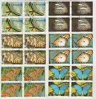 Schmetterlinge S.Tome E.Principe gestempelt hoher Katalogwert 44 E 109