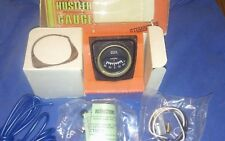 *NOS* Vintage 1970's DIXCO Ammeter gauge kit new in the box. Tag SW tach gauge