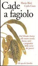 2000: FLAVIO BIRRI/CARLA COCO - CADE A FAGIOLO - MARSILIO - PRIMA EDIZIONE