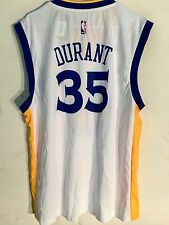 Adidas NBA Jersey Golden State Warriors Kevin Durant White sz XL