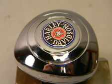 HARLEY STEERING WHEEL SPINNER KNOB ONLY FITS NEW VEHICLES ROUND PADDED WHEELS