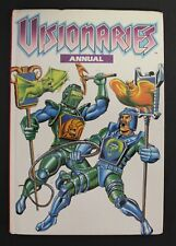 1989 Marvel VISIONARIES Annual - Hardcover UK exclusive book GD to VG condition