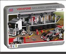 Mega Bloks Vodafone ProBuilder McLaren Mercedes F1 Racing Rig Lewis Hamilton NIB
