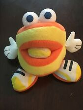 Montgomery Biscuits Monty Mascot Doll Plush Minor League Baseball Toy RARE