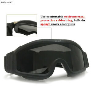 Sunglasses Tactical Glasses Shooting Airsoft Goggles Motorcycle Cycling Glasses