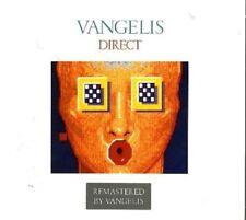 VANGELIS - DIRECT (REMASTERED EDITION)  CD  12 TRACKS PROGRESSIVE ROCK  NEU