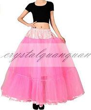 Long Tutu Underskirt Slips Wedding Dress Fancy Net Petticoat Crinoline Tulle