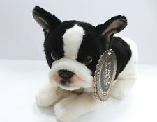 Fao Schwarz French Bulldog Puppy Dog Plush 11 in
