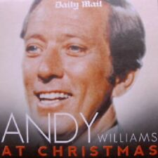 ANDY WILLIAMS AT CHRISTMAS - UK PROMO CD ALBUM / HAPPY HOLIDAY, AVE MARIA ETC