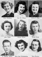 1947 Waterloo Iowa West High School Yearbook~Photos~History~Football~Drama~++++