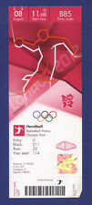 Orig.Ticket  Olympic Games LONDON 2012   HANDBALL  1/4 FINAL  ICELAND - HUNGARY
